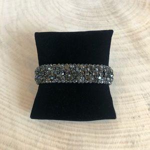 Jewelry - Charcoal Crystal Bracelet